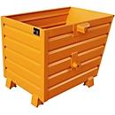 stapelbare kiepbak BSK 70, oranje