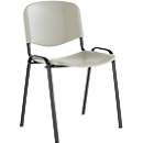 Stapelbare stoel Elyeko l.grs/zwart