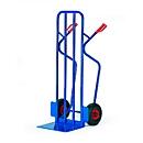 Stapelkarre extra breit, Tragkraft 250 kg, Luft-Bereifung