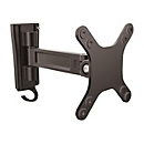 StarTech.com Monitorarm für Wandmontage - Ein Gelenk - Für VESA Monitore / Flachbild TV für bis zu 27 Zoll (15Kg) - Monitor Wandhalterung - verstellbarer Arm