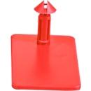 Steeksluiting CC Box 3, rood, 500 st.