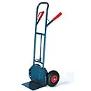 Steekwagen Easy UnLoader, niet belastend voor de rug