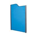 Stellwand, 1800 x 850 mm, anthrazit/dunkelblau