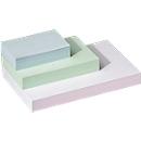Systeemkaarten, gelinieerd, papier, 100 stuks, wit, A4