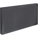 Tafelscheidingswand Akustika, B 800 x H 400 mm, grafiet
