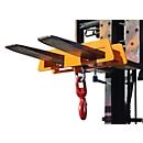 Takel LH 2, 7500 kg draagvermogen, oranje gelakt