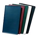 Taschenkalender, 32 Seiten, B 95 x T 5 x H 160 mm, Werbedruck 70 x 30 mm, blau