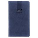 Taschenkalender Tucson, 128 Seiten, B 90 x H 155 mm, Werbedruck 60 x 40 mm, blau