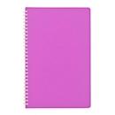Taschentimer, 128 Seiten, B 105 x T 14 x H 165 mm, Werbedruck 70 x 40 mm, pink