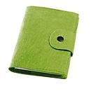 Taschentimer Feltro, 128 Seiten, B 115 x T 15 x H 175 mm, Werbedruck 70 x 40 mm, grün