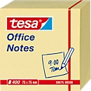 TESA Haftnotizen Office Notes, 75 mm x 75 mm, 400 Blatt, gelb
