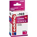 Tintenpatrone edding kompatibel für Canon CLI-551XL M