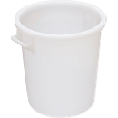 Ton, van HDPE, stapelbaar 35 liter, naturel