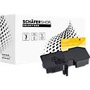 Toner Schäfer Shop, kompatibel zu Toner Kyocera TK5240K 1T02R70NL0, für ca. 4000 Seiten, schwarz