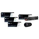 Toner-Sparset HP 410A-Serie, 4-tlg. + gratis Bluetooth-Lautsprecher Swisstone BX 500
