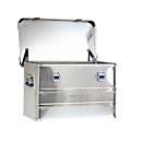 Transportbox Alutec INDUSTRY 30, Aluminium, 30 l, L 430 x B 355 x H 277 mm, mit Stapelecken, stabiler Deckel
