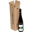 Transportdozen voor wijnflessen, L 105 x B 105 x H 385 mm, 1 fles/doos, 20 stuks