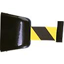 Trekband-muurcassette, magnetisch, 5 m, band zwart/geel