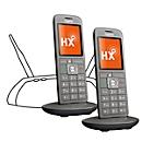 Universal Mobilteil Gigaset CL660HX Duo, erweitert DECT/GAP Telefonbasen u. Router