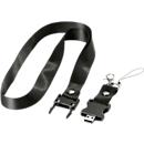 USB-Lanyard schwarz, 4 GB