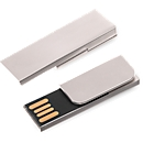 USB-Stick Firstnotice Metall, USB 2.0, Werbedruck 35 x 9 / 20 x 9 mm, 4 GB