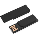 USB-Stick Firstnotice, USB 2.0, 4 GB, Werbedruck 35 x 9 / 20 x 9 mm, schwarz