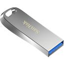 USB-Stick SanDisk Ultra Luxe, USB 3.1, bis 150 MB/s, mit Passwortschutz, 16 GB Speicherkapazität, Metall