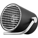 USB-ventilatorbuis, 2 snelheden, 2 W, kantelbaar, B 112 x D 116 x H 100 mm, zwart