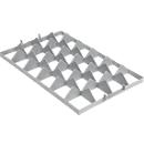 Vakindeling FW 1192-2 boven, PE-HD, grijs