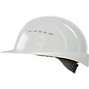 Veiligheidshelm EuroGuard I/79 4-G, hogedrukpolyetheen, DIN EN 397, wit, met 4-puntsriem ventilatie,