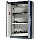 Veiligheidskast Battery Store Pro, 3 roosters + 1 bodemlekbak, B 1193 x D 615 x H 1953 mm