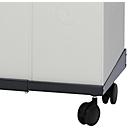 Verrijdbaar onderstel voor Karat 2000 pre-selectieve afvalbak, 510-860 mm verstelbaar