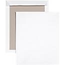Versandtasche, C4, Papprückwand und Haftklebung, ohne Fenster, weiß, 125 St.