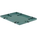 Verschlussdeckel für Stapelkasten 14/6-1, Stahl
