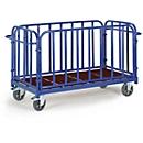 Vierwandwagen, 1300 x 800 mm, draagvermogen 1.200 kg