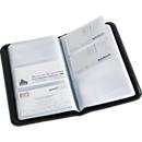 Visitenkartenbuch, für 120 Visitenkarten, schwarz