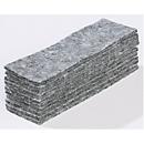Vliestücher für Tafelwischer 89121, 45 x 145 mm, grau, 10 Stück