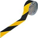 Vloermarkeringstape, 50 mm breed, zwart/geel