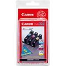 Voordeelpakket 3 stuks Canon inktcartridges CLI-526 cyaan/magenta/geel