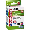 Voordeelset inkt Edding compatibel met HP 302XL/302XL (F6U68AE/F6U67AE), CMYK