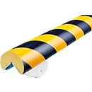 Wall Protection Kit, Typ A+, 0,5-m-Stück, gelb/schwarz