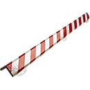 Wall Protection Kit, type H+, 1 m/stuk, wit/rood reflecterend