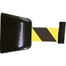 Wand-Gurtkassette, magnethaftend, 8 m, Gurt schwarz/gelb