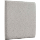 Wandpaneele m. Magnetbefestigung, B 604 x T 604 x H 47 mm, glatte Oberfläche, beigebraun