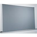 Wandschiene für Planungstafeln Sigel Business, L 2000 mm, Querformat, Aluminium, inkl. Montagezubehör