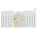 Wandterminplaner inkl. Karte, B 1140 x H 640 mm, Werbedruck 1000 x 80 mm, 100 Stück