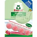 WC Reiniger Frosch WC-Frische Spüler, Körbchen 100% recycelbar, ohne Bügel, 42 g, Himbeer