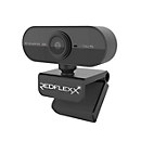Webcam REDFLEXX REDCAM RC-200, Full HD 1080p, USB 2.0, 360°drehbar, Autofokus, schwarz