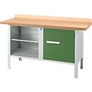 Werkbank PW 150-1, grün