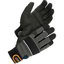 Werkhandschoenen Worksafe M50, EN388, kunstleer/spandex, dun gevoerd, maat 9, 6 paar